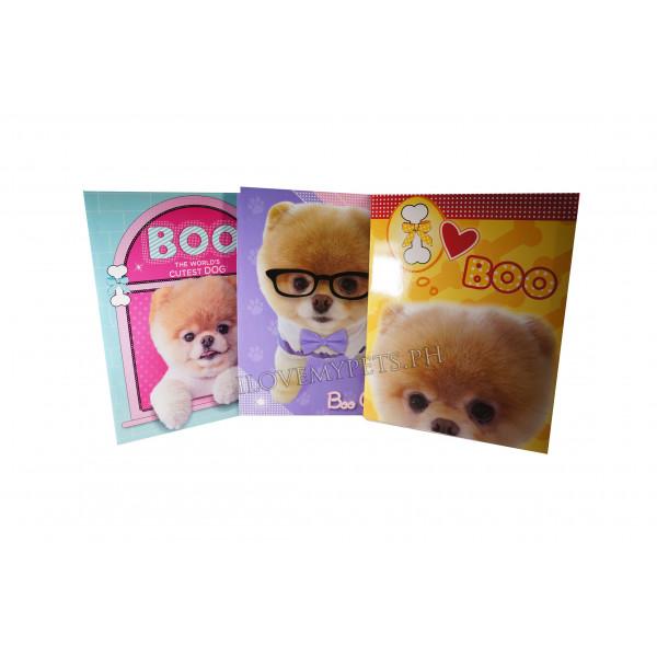 Boo Dog Folder w/ pocket