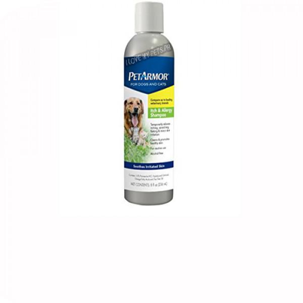 Pet Armor Itchy & Allergy Shampoo, 8 fl oz