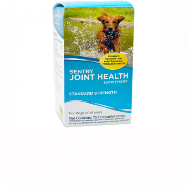 Sentry Joint Health Supplement - Standard Strength (75 chewable tablets)