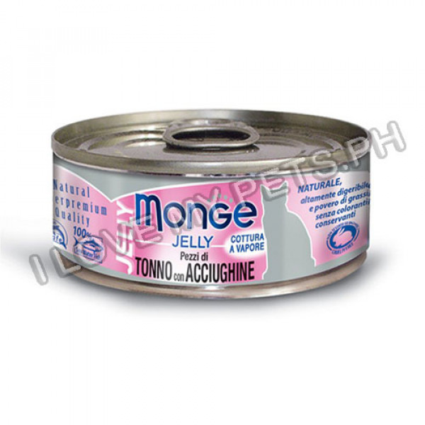 Monge Jelly Yellowfin Tuna and Anchovies...
