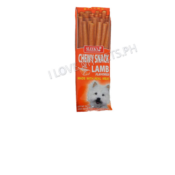 Sleeky Tasty Chews Sticks Lamb 50g
