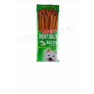 Sleeky Tasty Chews Sticks Bacon 50g...