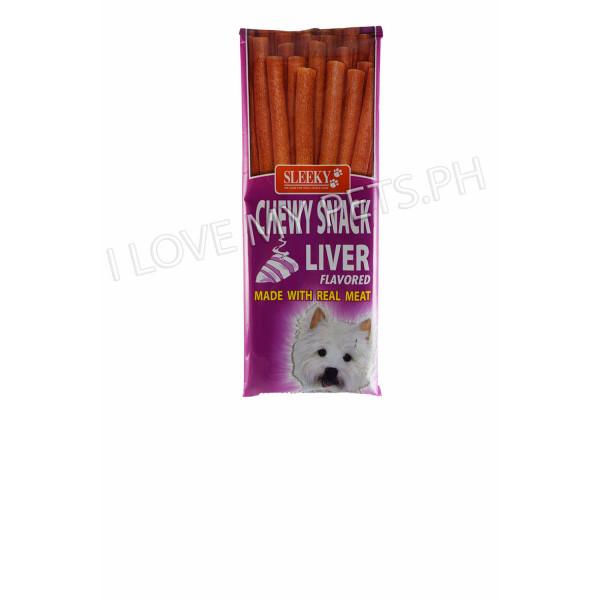 Sleeky Tasty Chews Sticks Liver 50g