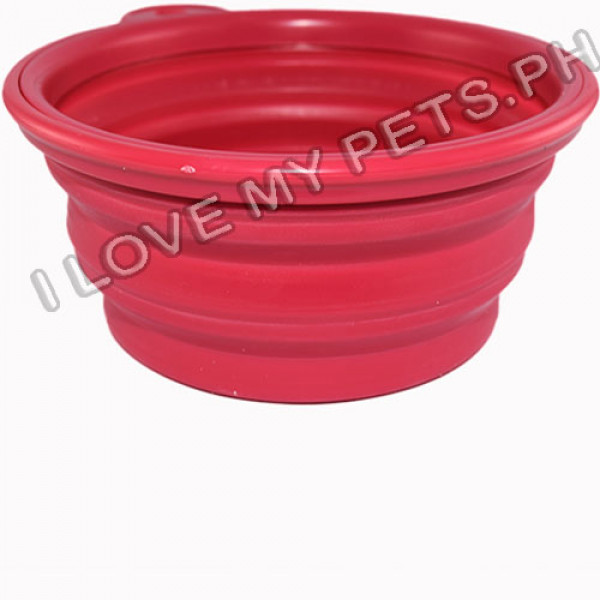 Take Everywhere Silicon Collapsible Bowl