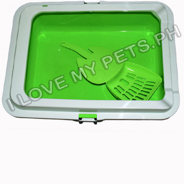 WOFF Cat Litter Box W/ Cute Scooper