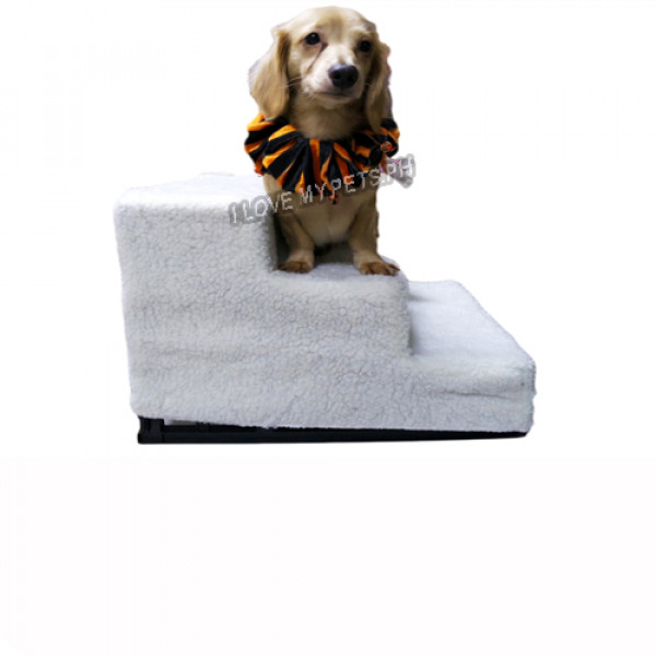 3 Step Dog Stairs w/ Washable Cover
