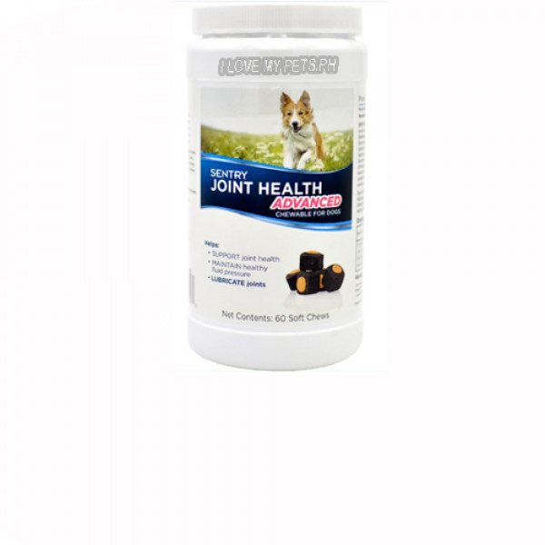 Sentry Joint Supplement Advanced Chewable, 60 Chews