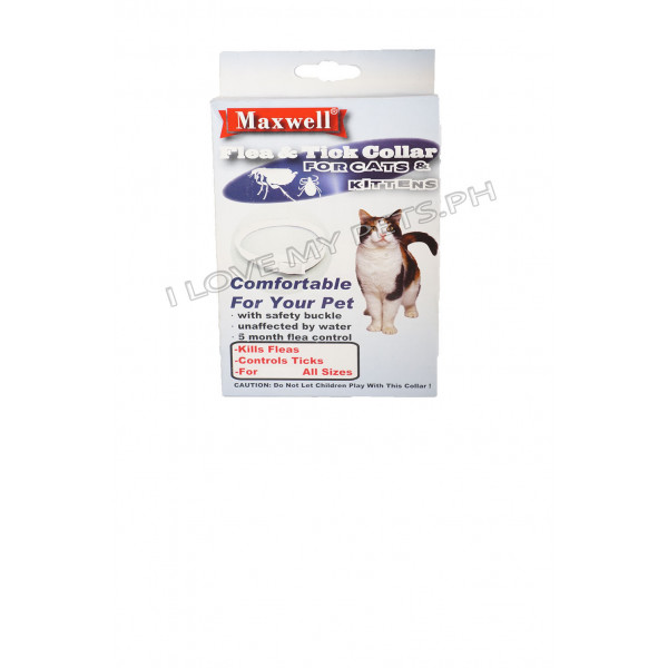 Maxwell Flea & Tick Collar for Cat