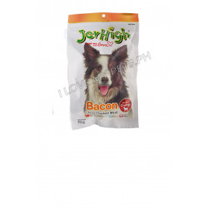Jerhigh Dog Snack Bacon Flavor, 70 grams...