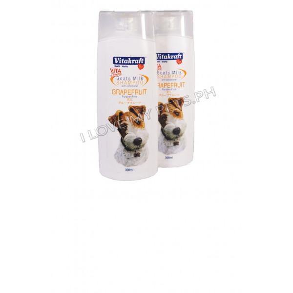 Vitakraft Goat milk shampoo grapefruit 3...