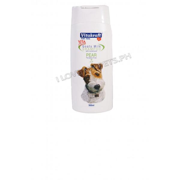 Vitakraft Goat milk shampoo pear 300 ml