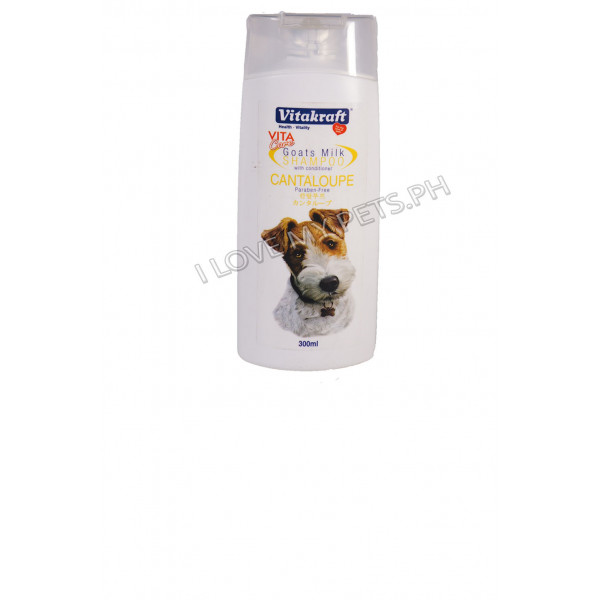Vitakraft Goat milk shampoo cantaloupe 3...