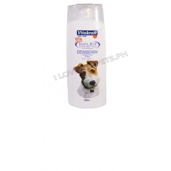 Vitakraft Goat milk shampoo dewberry 300...