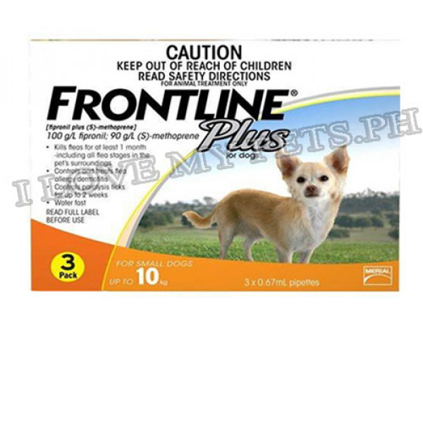 FrontLine Spot On Plus for Dogs small (3...