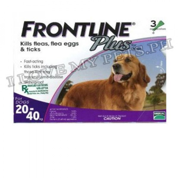 FrontLine Spot On Plus for Dogs large (3...