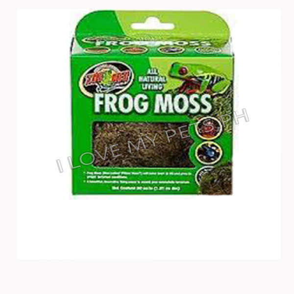 Zoomed  Frog Moss