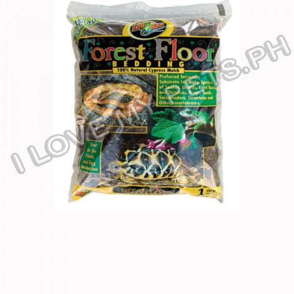 Zoomed forest floor bedding 8 QT