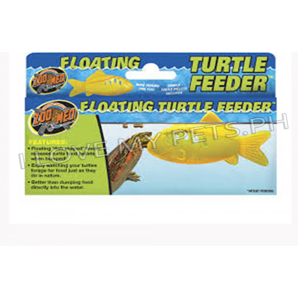 Zoomed Floating turtle feeder