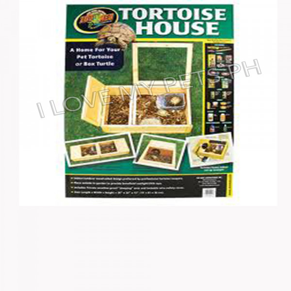 Zoomed Tortoise House