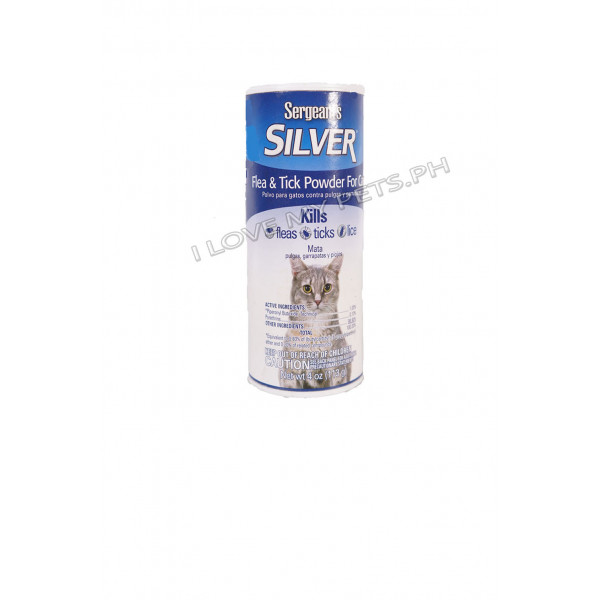 Sergeant's Silver Flea & Tick Powder...